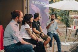 Da sinistra Orfini, Martignano, Guidetti e Dario Falcini - foto Starfooker