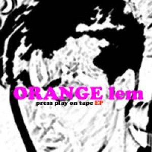 album Press play on tape EP - Orange Lem