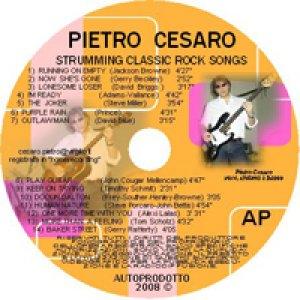 album Strumming classic rock songs - pietro cesaro