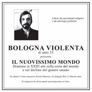 album Il Nuovissimo Mondo - Bologna violenta