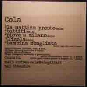 album Piove a Milano EP 2009 - Andrea Cola