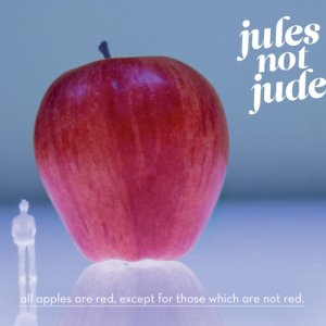 album All apples are red, except for those which are not red - Jules not Jude