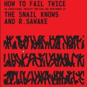 album How To Fail Twice - The Snail Knows And R. Sawake