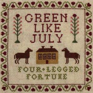 album Four-legged fortune - Green like july