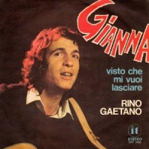 album Gianna/Visto che mi vuoi lasciare  - Rino Gaetano
