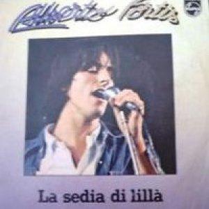 album La sedia di lillà/L'amicizia - Alberto Fortis