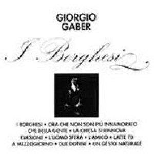 album I borghesi - Giorgio Gaber