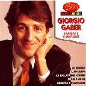 album Barbera e champagne - Giorgio Gaber