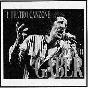 album Il teatro canzone di Giorgio Gaber - Giorgio Gaber