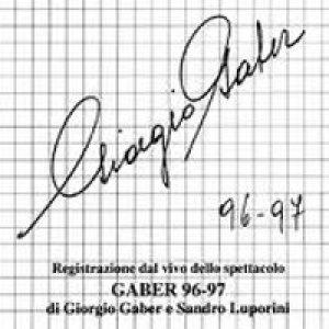 album Gaber 96/97 - Giorgio Gaber