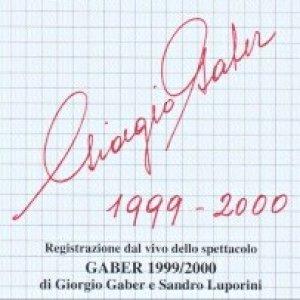 album Gaber 1999/2000 - Giorgio Gaber