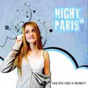 album can you keep a secret? EP - night in paris