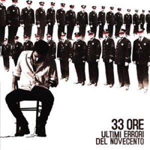 album Ultimi errori del Novecento - 33ORE