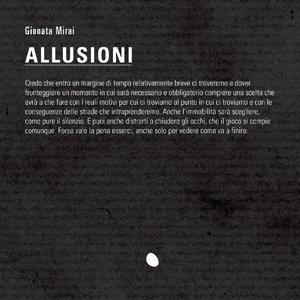 album Allusioni - Gionata Mirai