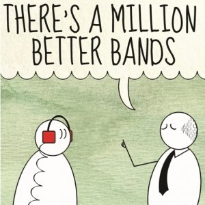 album There's a million better bands - Altre di B