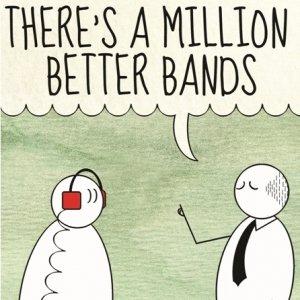 album There's a million better bands - Altre di B