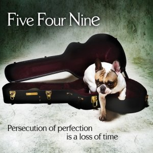 album Persecution of Perfection is a Loss of Time - Five Four Nine