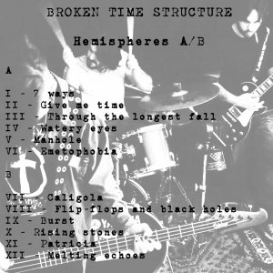 album Hemispheres A-B - Broken Time Structure