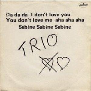 album Da Da Da I Don't Love You You Don't Love Me Aha Aha Aha - I Masters