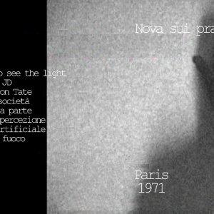 album Paris 1971 (Dischi Obliqui - 2012) - Nova sui prati notturni