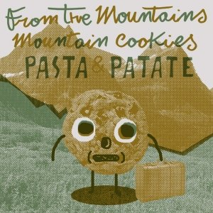 album from the mountains, mountain cookies - pastaepatate