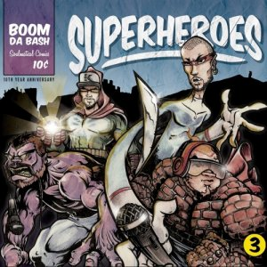 album Superheroes - Boomdabash
