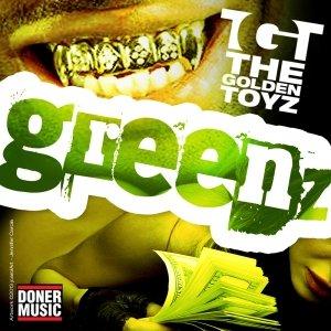 album Greenz EP - The Golden Toyz