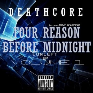 album Deathcore-Four Reason Before Midnight VOL.1 - Hard Kick Records