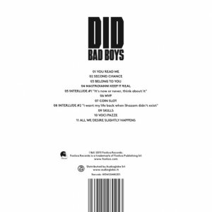 album Bad Boys - DYD