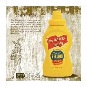album Yellow Sauce '59 EP - The Hot Dogs Family