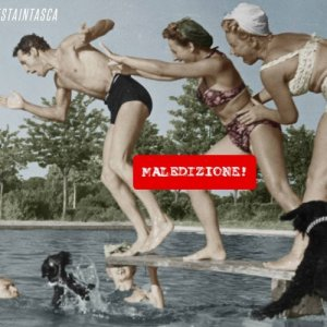 album Maledizione! - Testaintasca