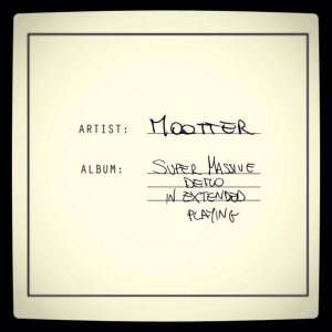album Super Massive Demo in Extended Playing - Mootter