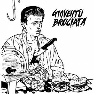 album GIOVENTÙ BRUCIATA - S/T (vinyl 12