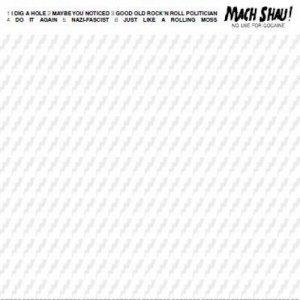 album NO USE FOR COCAINE - MACH SHAU!