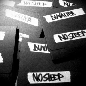 album NO SLEEP - duvalier