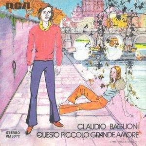 Claudio baglioni album questo piccolo grande amore cantautore - Porta portese messaggi ...