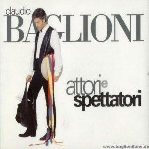 album Attori e spettatori - Claudio Baglioni
