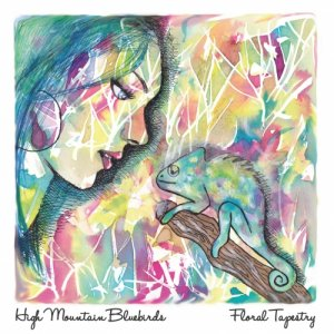 album Floral Tapestry - High Mountain Bluebirds