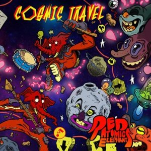 album Cosmic Travel - Red Atomic Elephants