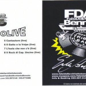 album StudioLive - FDAB_FalsiDellArchitettoBennato