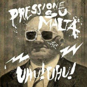 album Uhu! Uhu! - pressione su malta