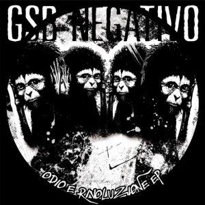album Odio e Rivoluzione EP - GSB negativo