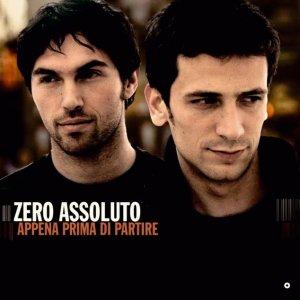 album Appena Prima Di Partire - Zero Assoluto