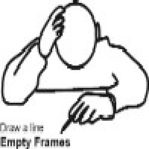 album Draw a line - Empty Frames