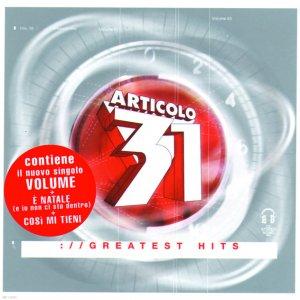 album Greatest Hits - Articolo 31