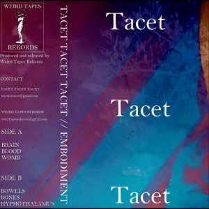 album Embodiment - TACET TACET TACET