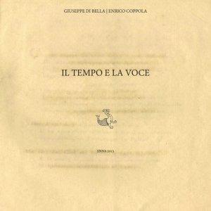 album Il Tempo E la Voce - Il Tempo e la Voce