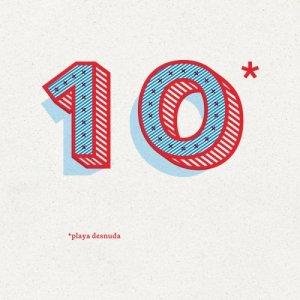 Playa Desnuda 10 copertina