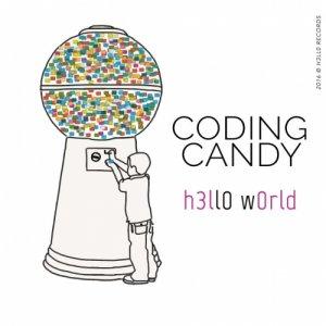 Coding Candy H3ll0 W0rld copertina
