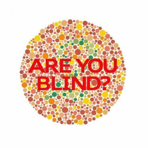 album ARE YOU BLIND? - Red Blind